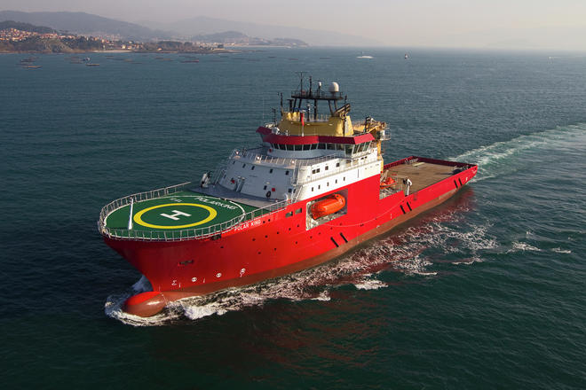 Multipurpose subsea vessel Polar King