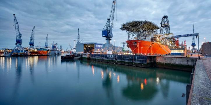 Damen acquires Dutch ship repair yard D. van de Wetering in Rotterdam