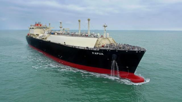 Papua LNG carrier successfully delivered