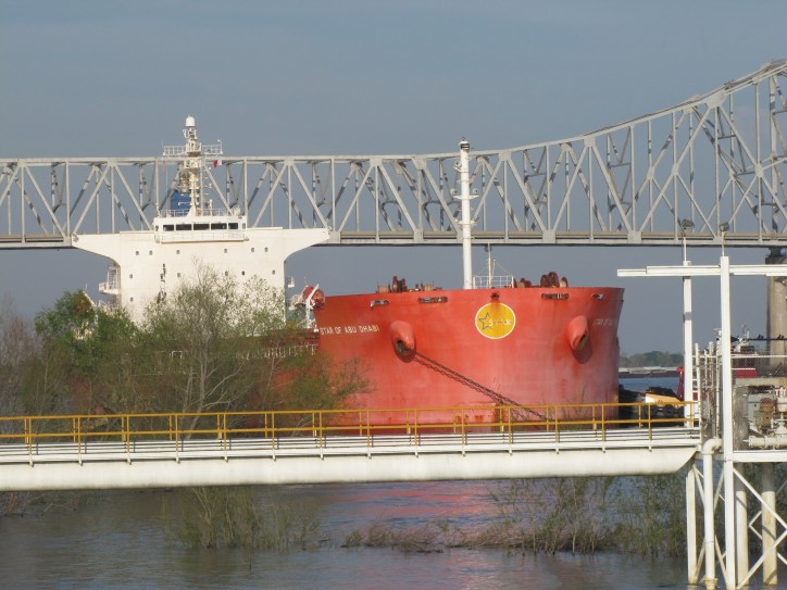 Bulk Carrier Star of Abu Dhabi Arrested for Dock Damage in Louisiana