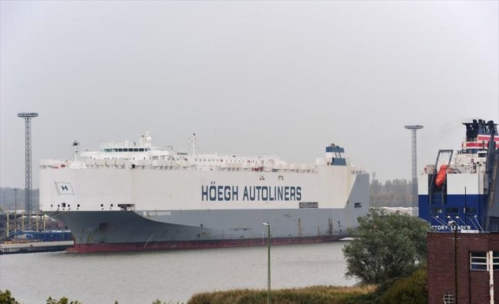 UPDATE: Car carrier Hoegh Transporter seized at Mombasa; Drugs and weapons found onboard; UN official investigating the case found dead