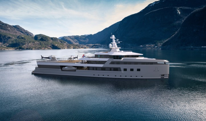 Second new DAMEN SeaXplorer luxury expedition yacht sold
