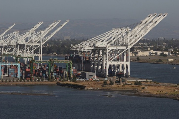 Port of Oakland cranes going higher at largest marine terminal