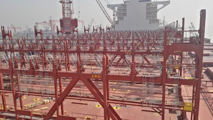 MacGregor delivers optimised cargo system upgrades for CSCL in China