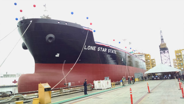 General Dynamics NASSCO Delivers First ECO Class Tanker for American Petroleum Tankers