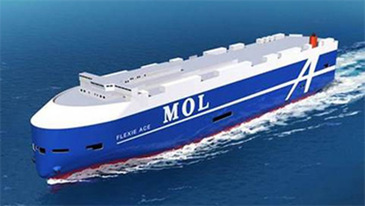 Mitsui O.S.K. Lines Finalizes Hull Logo Design for Next-generation Car Carriers