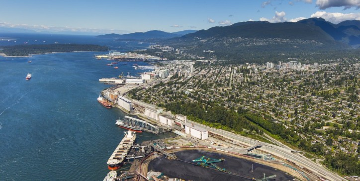 Growth across most sectors drives record mid-year results at the Port of Vancouver