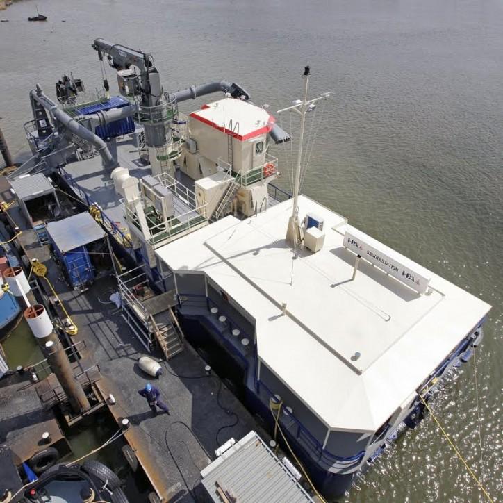 DAMEN Floating Pump Station SAUGER 3