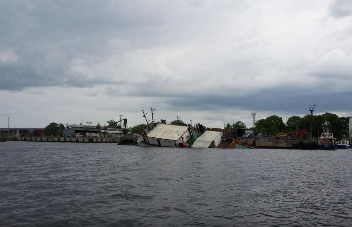 Ferry Harley Davidson 1 sank