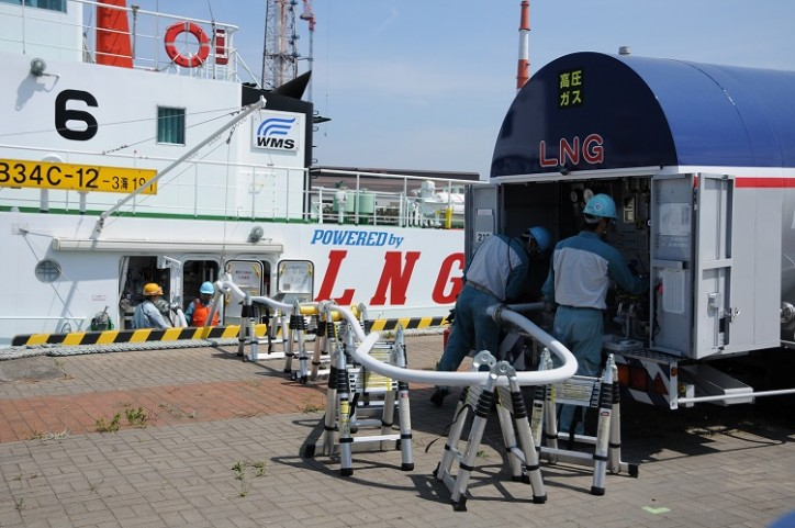 NYK Participates in First LNG Bunkering Operation in the Setouchi and Kyushu Areas of Western Japan