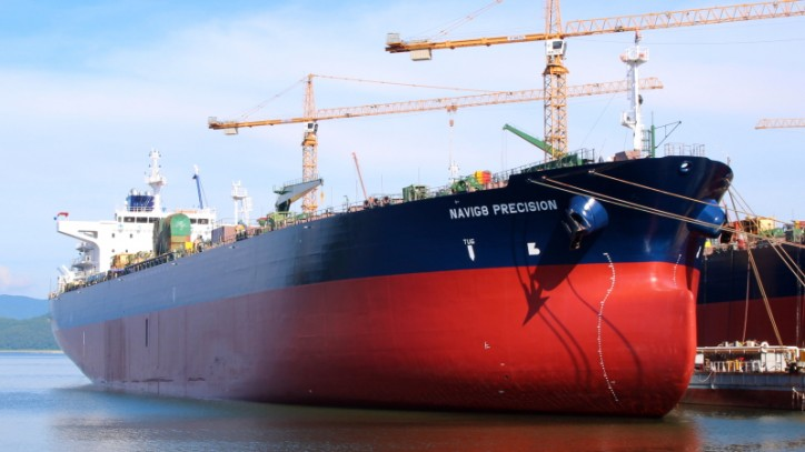 Navig8 Product Tankers Inc. Takes Delivery of its Third Newbuilding Product Tanker from SPP Shipbuilding