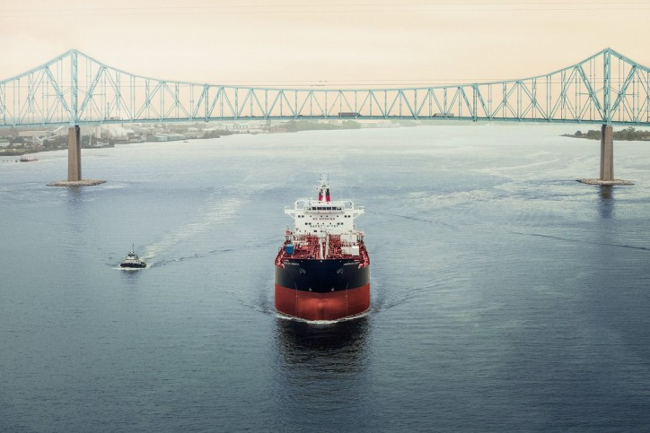 Philly Shipyard Delivers Third Product Tanker to Kinder Morgan