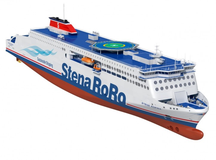 DNV GL Class For New GAS READY Stena RoPax Newbuildings