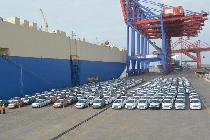 APM Terminals Pipavav handles 100,000th Auto Unit