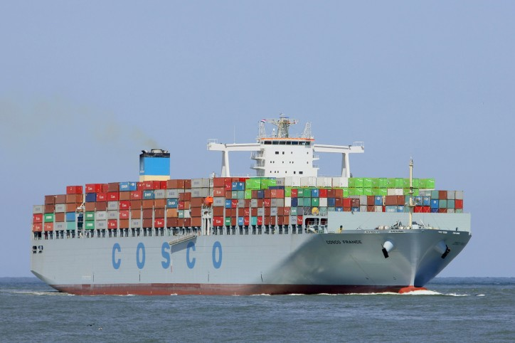 COSCO to add 2 million TEUs by 2018