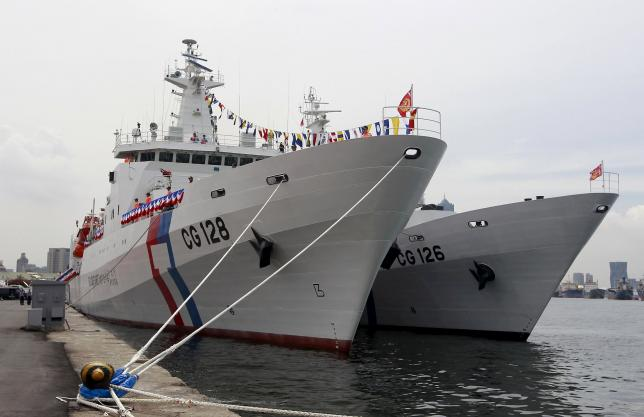 Amid South China Sea Tension Rise, Taiwan Launches Two New Patrol Vessels