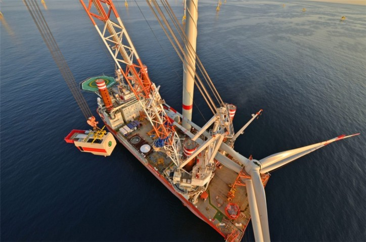 Iberdrola successfully installs all 70 wind turbines at Wikinger offshore wind farm