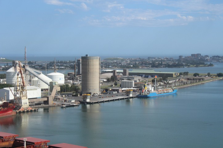 Another milestone for the Newcastle Bulk Terminal development