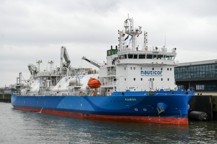 Babcock Schulte Energy's Gas Supply Vessel - Ready for Business (Video)