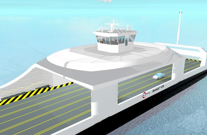 New electric ferry project expands KONGSBERG's autonomous vessel newbuild project portfolio