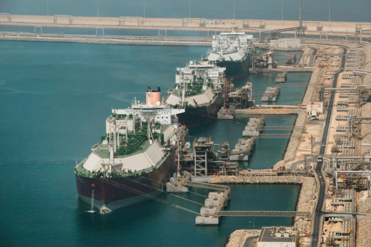 Qatari LNG Tanker Logjam Signals Production Maintenance