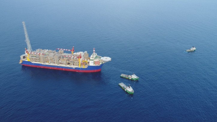 FPSO Ichthys Venturer arrives in Australian waters