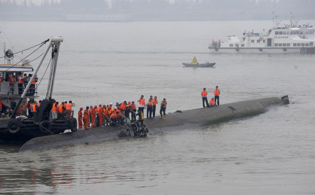 UPDATE: Chinese ferry sinks in Yangtze river with more than 400 missing