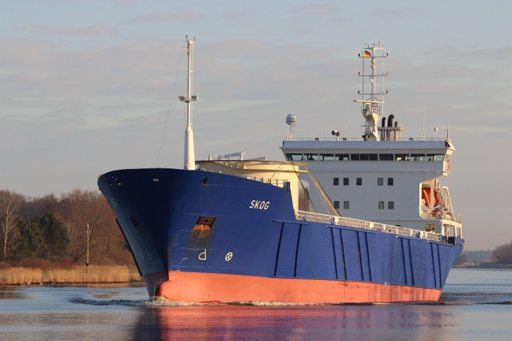 Cargo ship Skog in trouble off Orkney islands, UK