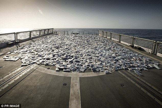 HMAS Darwin seized hash