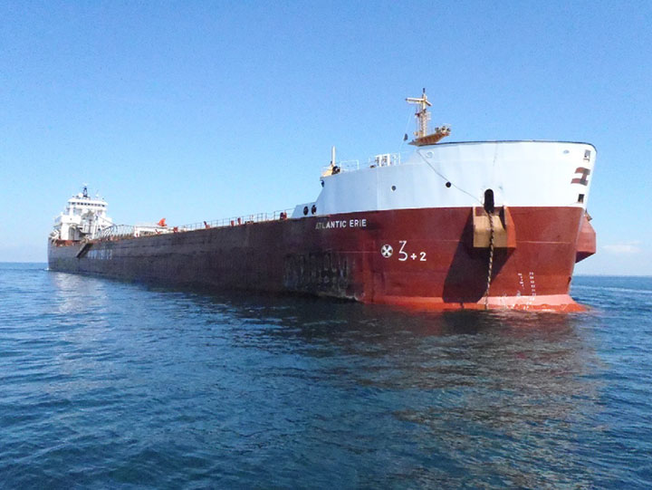 TSB: Bulker Atlantic Erie Grounds due to Faulty Visual Navigation