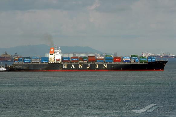 Container ship Hanjin Rome Sold by a Singapore court