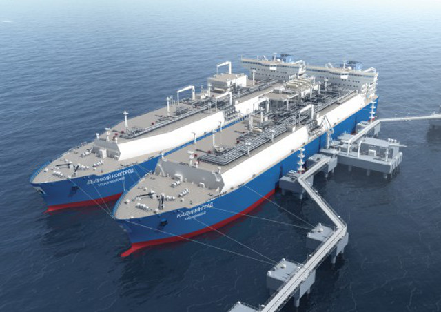 Floating storage and regasification unit Kaliningrad to be built to RS class