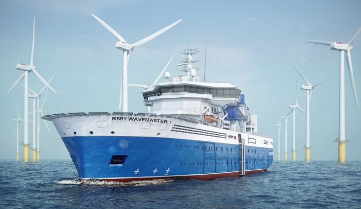 Damen Shipyards Galati starts construction of ground-breaking windfarm support vessel
