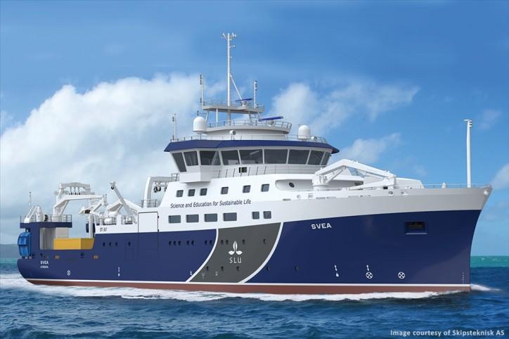 AML's MVP200 Selected for New Swedish Research Vessel RV Svea