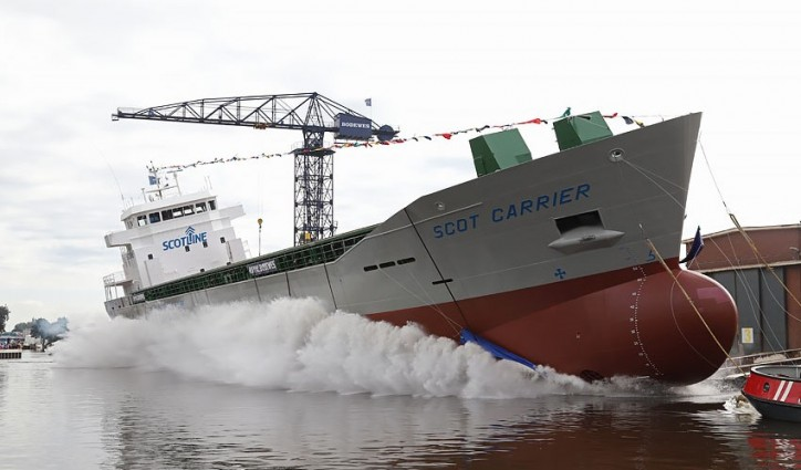 Scotline and Royal Bodewes announces the launch of Scot Carrier (Video)