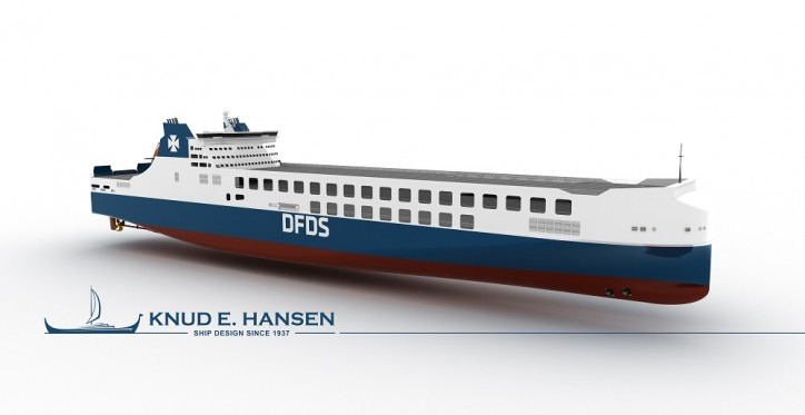 DFDS orders two more large freight ships to be built at Jinling Shipyard