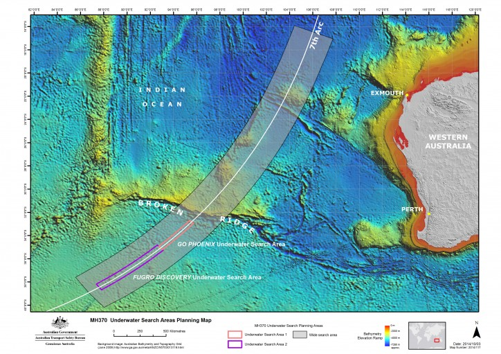 Could Cloud changes identify the missing MH370