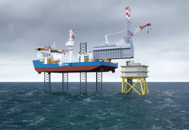 GustoMSC introduces new light drilling jack-up rig design