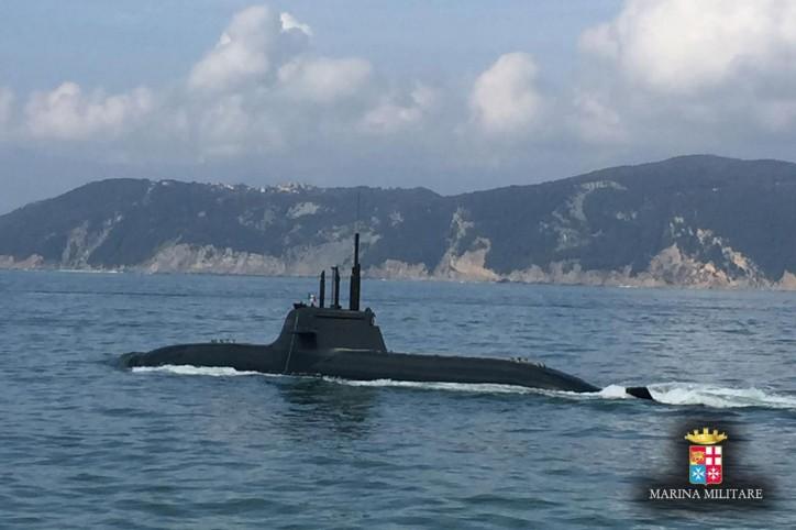 Submarine Pietro Venuti Delivered to Italian Navy 2