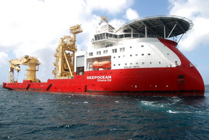 DeepOcean Ghana Ltd awarded 3-year contract for Polar Onyx