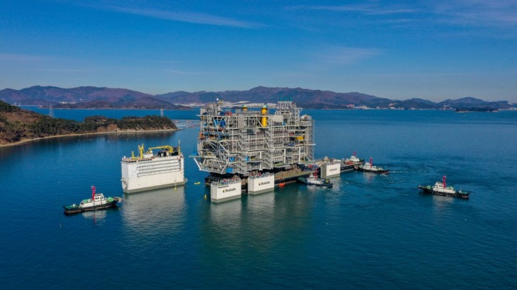 Samsung Heavy Industries Delivers an Offshore Platform On Schedule with No Carry Over Work