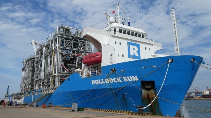 Roll Group awarded contract to transport 24 modules for the Total Ethane cracker project in the USA