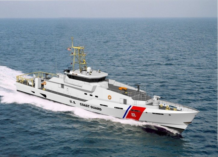 Bollinger Delivers USCGC Lawrence Lawson, the 20th Fast Response Cutter To The USCG