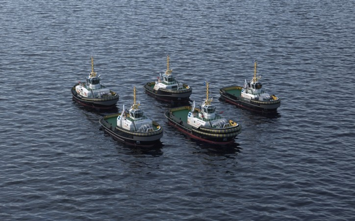 Damen presents the next generation in harbour towage: safe, green and connected tugs