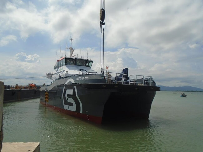 BMT Nigel Gee Designs First UK Flagged HS-OSC Wind Farm Vessel