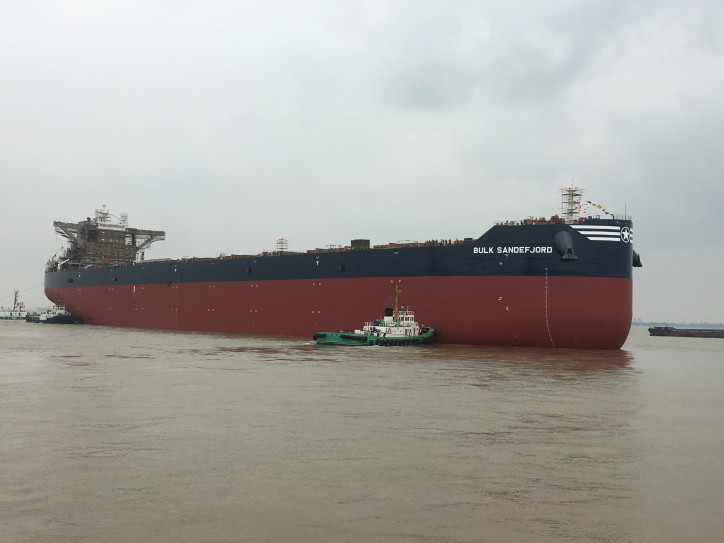 2020 Bulkers Announces Delivery of Bulk Sandefjord and Commencement of Charter