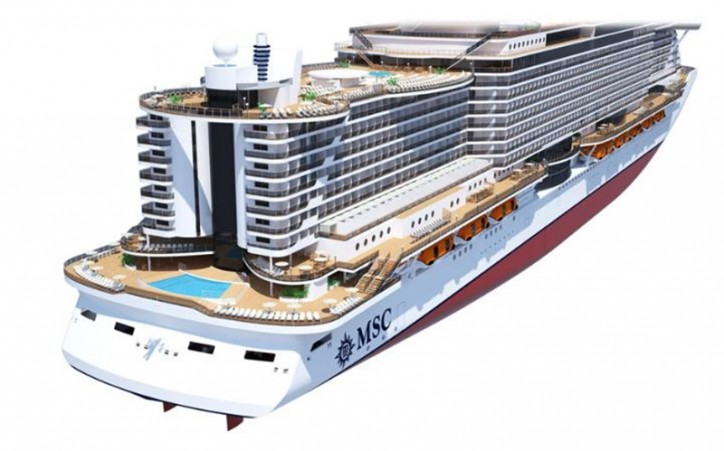 Genoa will be the home port for MSC's new ship, Seaview
