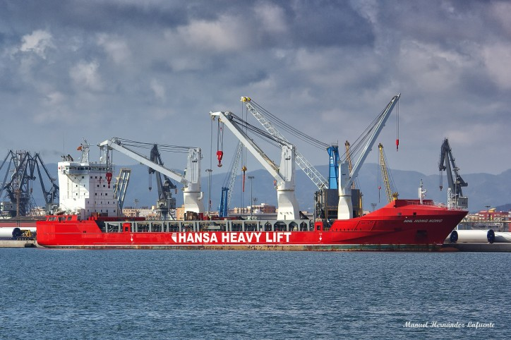 German cargo ship and crew stranded since nine months