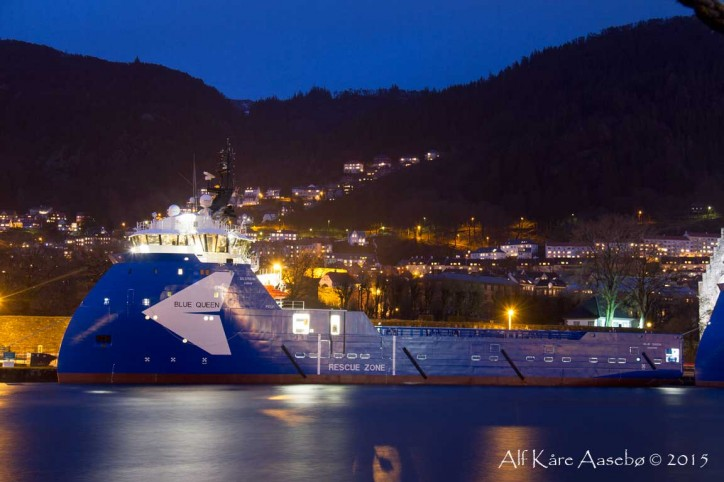 Ulstein's Blue Queen Vessel Acquires Top ESI Score