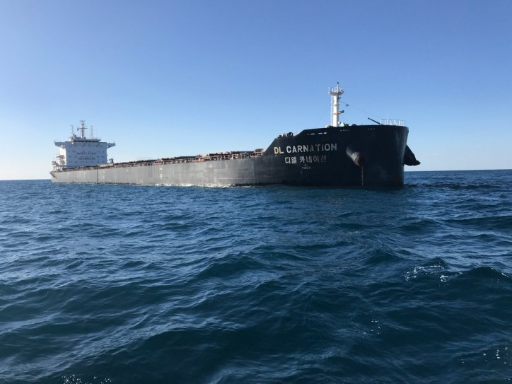 The Australian Maritime Safety Authority (AMSA) bans Panama-flagged bulk carrier for underpaying crew